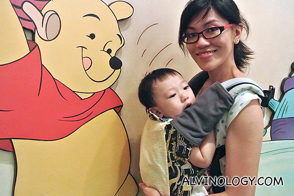Asher and Pooh