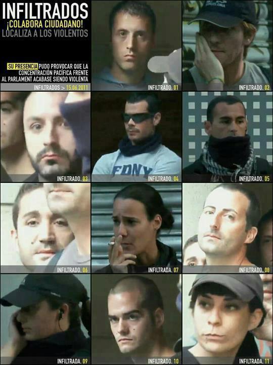 Spain infiltrators
