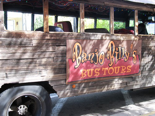 haunted boulder - banjo billy bus tours