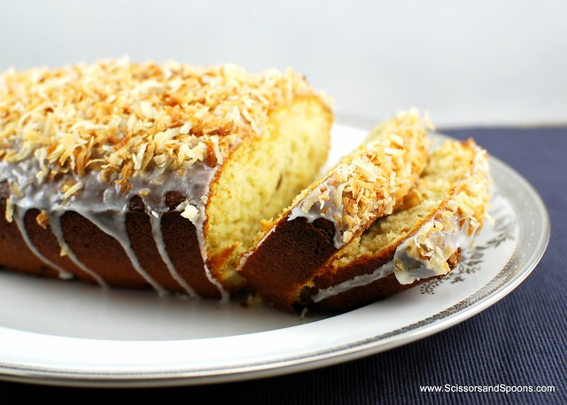 Recipe: Coconut-Buttermilk Pound Cake | Scissors and Spoons