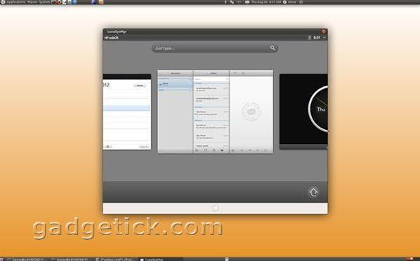 HP Open webOS 1.0