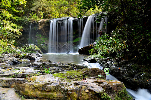 water creek river waterfall nikon stream exposure southcarolina falls brasstown d3100