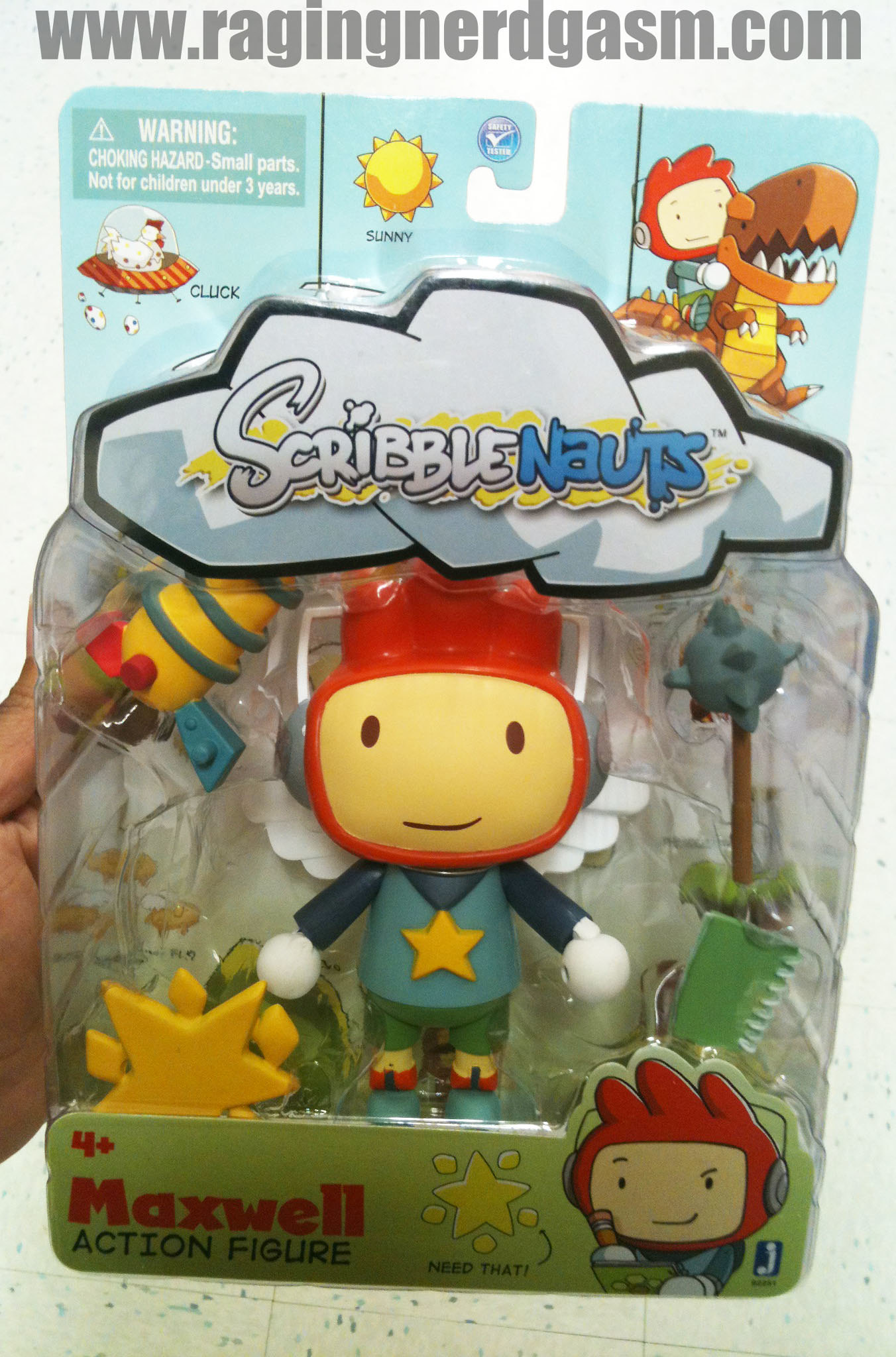 ScribbleNauts by Jazwares Maxwell Action Figure 008