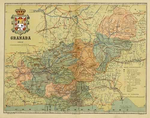 010-Provincia de Granada-Atlas geográfico ibero-americano. España (1903)