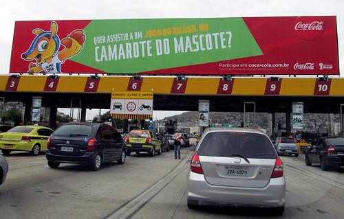 2012 Name That Mascot Promo - Rio de Janeiro to Niteroi Bridge by roitberg