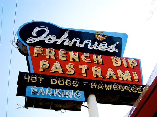 Johnnie's Pastrami Sign