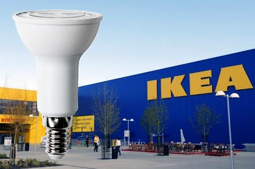 IKEA будет продавать только светодиодные лампы к 2016 году