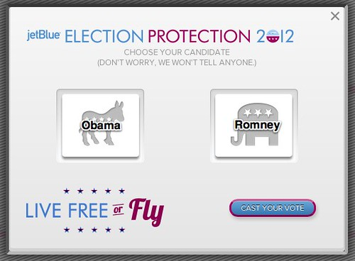 [Revised] JetBlue presents - Election Protection 2012 by stevegarfield