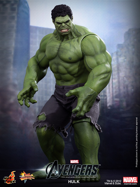 Hot Toys - The Avengers - Hulk Limited Edition Collectible Figurine_PR2