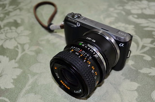Sony NEX-C3 with Mitakon Wide MC 2.8/28