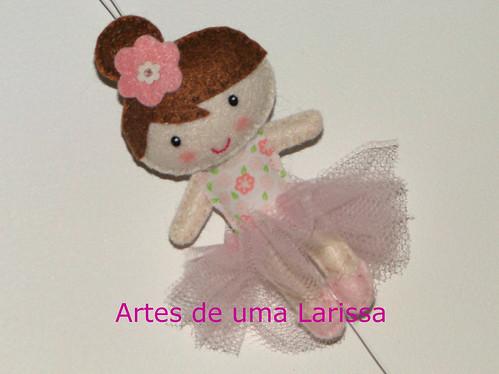 Bailarina by Artes de uma Larissa