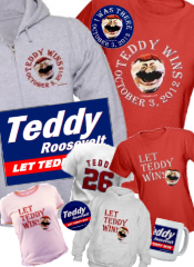 Let Teddy Win T-Shirts