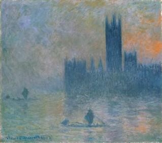 Claude Monet - Houses of Parliament (Effect of Fog) [1903-04]