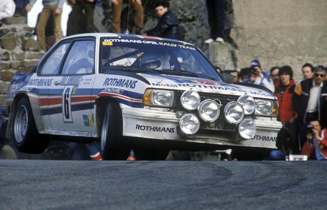 opel ascona 400 of henri toivonen at 1983 rally monte. Black Bedroom Furniture Sets. Home Design Ideas