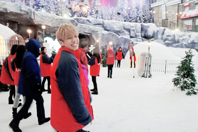 typicalben over at snow world genting