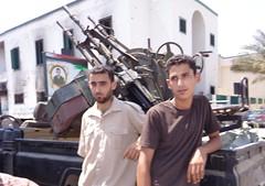 Militia men in Misrata. Credit: Mel Frykberg/IPS.