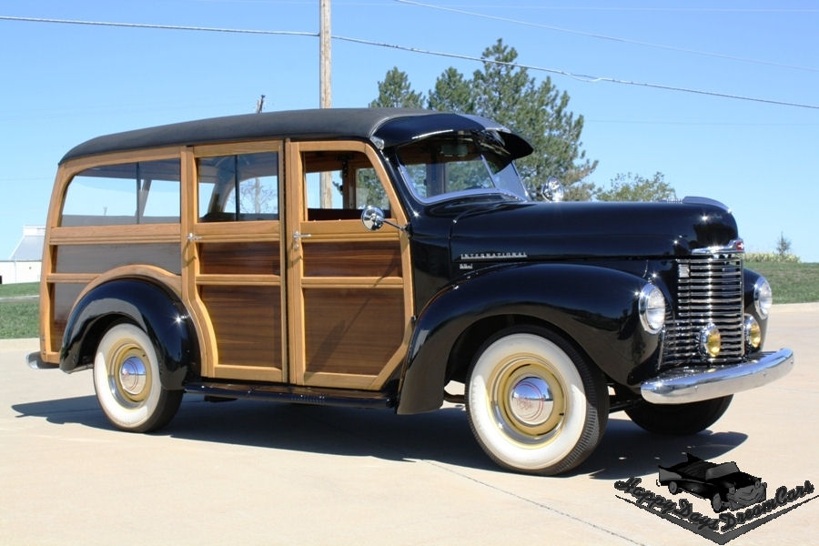 The Amazo Effect: 1948 International KB-1 Woody Wagon