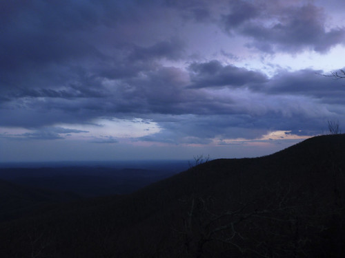 sunset ga georgia view hiking backpacking 2012 appalachiantrail traymountain at