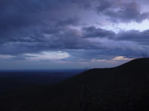 sunset ga georgia view hiking backpacking 2012 appalachiantrail traymountain at
