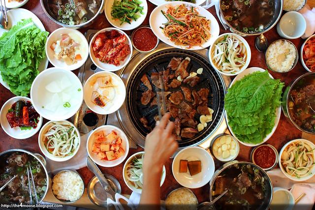 연포갈비 - a Feast