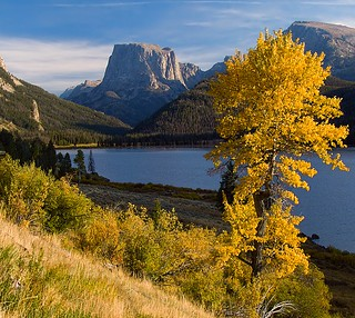 Fall In The Wind River Range