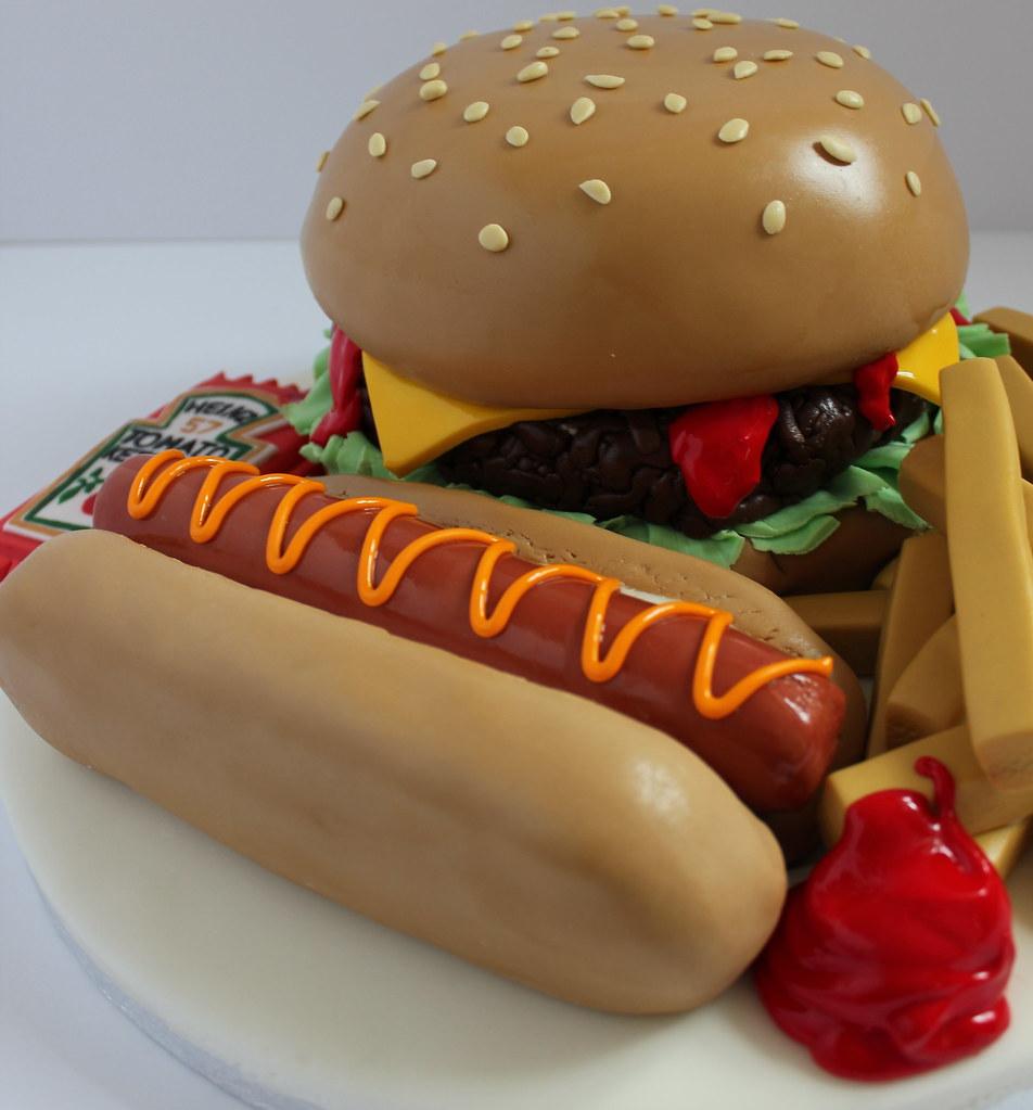 Fast Food Birthday Cake!!