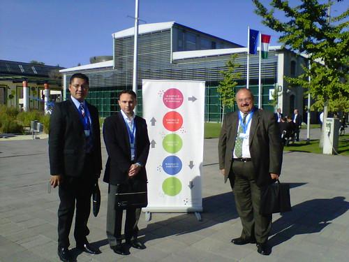 Delegación mexicana participa en la Segunda Conferencia sobre Espacio Cibernético en Budapest