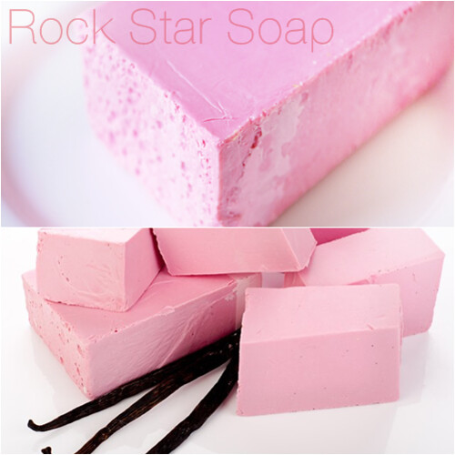 Rock Star Lush Soap review