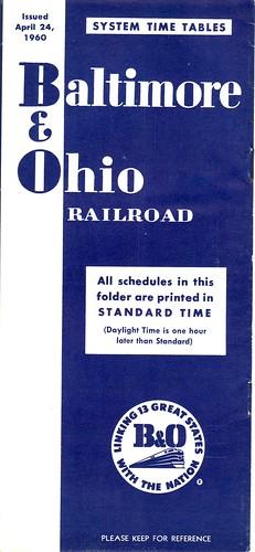 B-O 1960 Cover