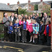 Junior Wardens from Greengate Junior School open the Grow Your Own scheme