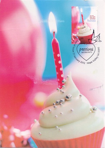 Australia Cupcake Maxicard
