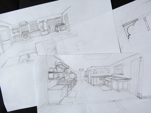 Kitchen sketches