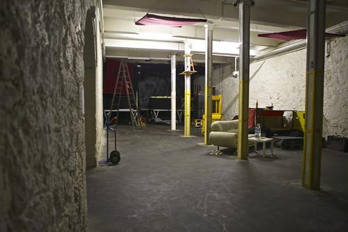 Der Veranstaltungsraum der Papierfabrik