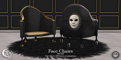 NeverWish  Face Chairs
