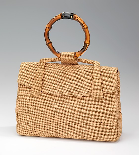 1950. French. Cartier. Leather, wool, wood. metmuseum