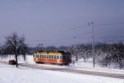 Mörigen | CH-BE (Bern) | 16.02.1985 | BTI-Be 4/4 5