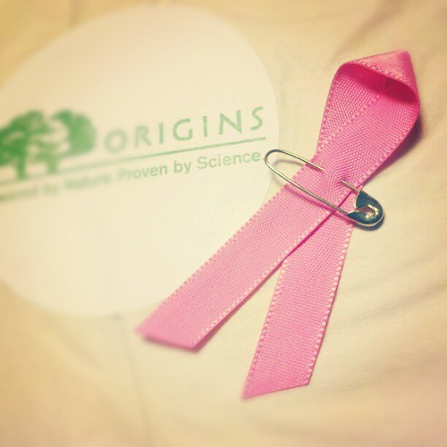 #origins #pinkribbon