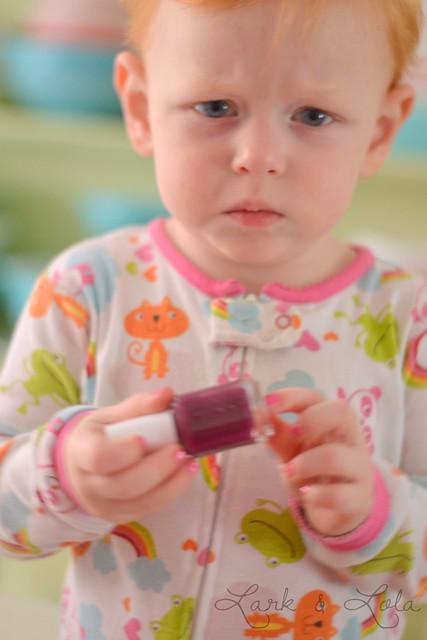 Violet wants violet