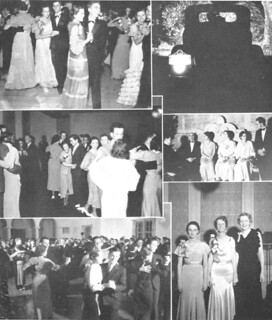 A Metate compilation of formal dance photos from 1934