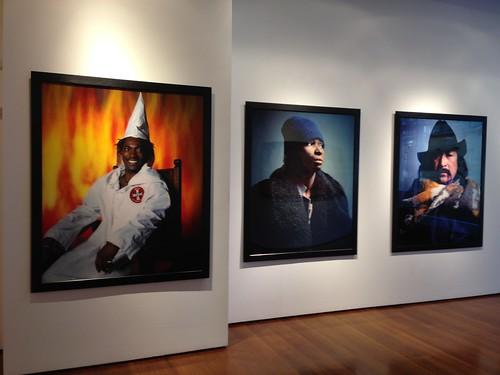 Andrés Serrano's portraits