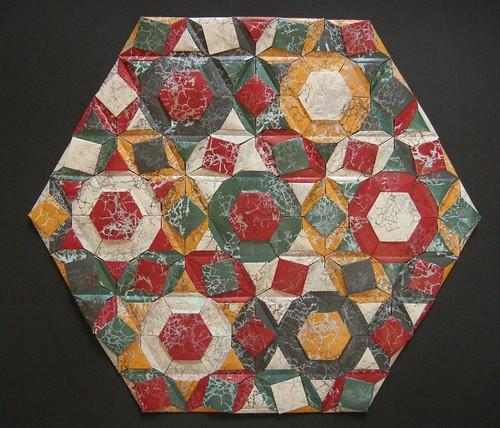Trastevere quilt (opus LVI) reverse