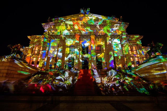 Berlin Festival of Lights 2012: Konzerthaus