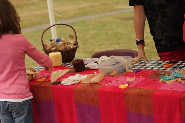 Harvest festival 2012 (corn husk dolls)