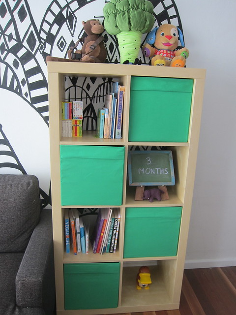 Luella's new bookcase