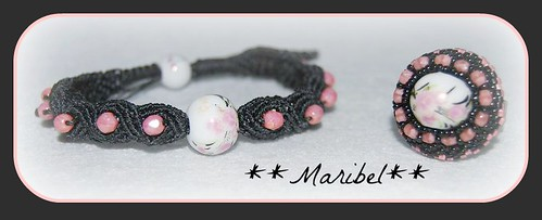 Conjunto pulsera Anillo by HADA-Maribel