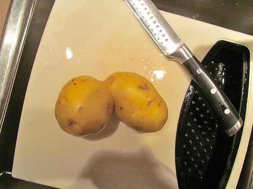 Irish Stew - conjoined twin potatoes
