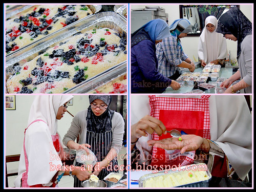 Baking Class: Mini Pack Cakes ~ 30 September 2012