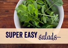 2. super easy salads