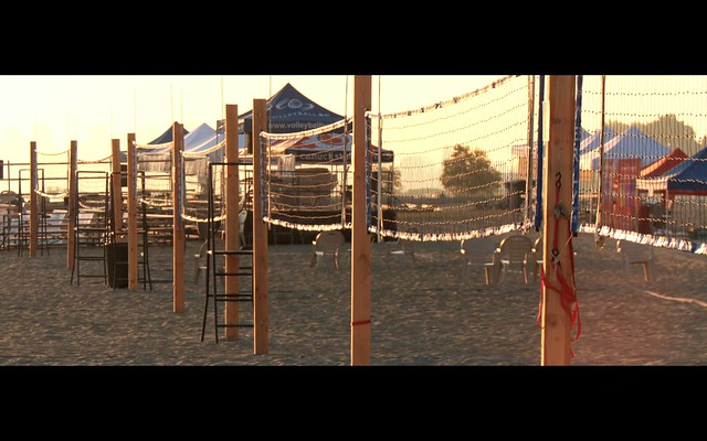 Beach Volleyball Morning