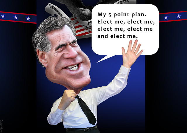 Mitt Romney's 5 Point Plan